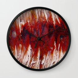 Raspberry Angelwing Wall Clock