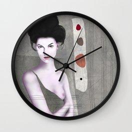 De cara a la pared Wall Clock