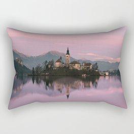 Bled, Slovenia Rectangular Pillow