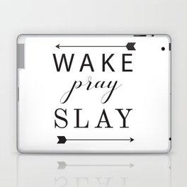 Wake Pray Slay Arrow Killing It Laptop & iPad Skin