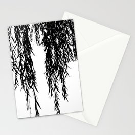 willow bw Stationery Cards