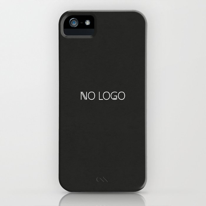 no logo iPhone Case