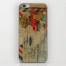 Via Air Mail iPhone & iPod Skin