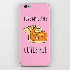Cutie Pie iPhone & iPod Skin
