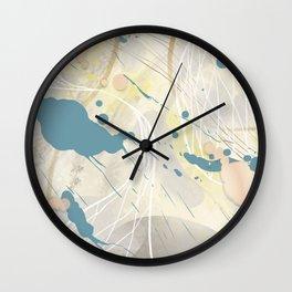 Abstract 16 Wall Clock