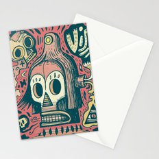 Vision étrange Stationery Cards