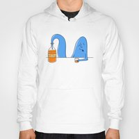 whiskey Hoodies featuring whiskey genie by gazonula