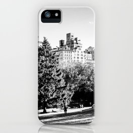 Central Park NYC iPhone Case