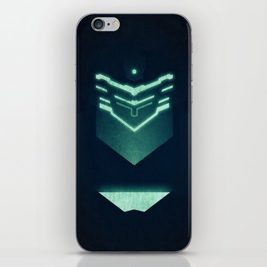 Isaac Clark / Dead Space iPhone & iPod Skin