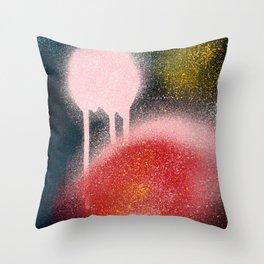 Abstract Spray Paint Art Street Culture  Throw Pillow