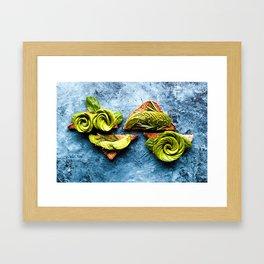 Avocado Foodie Art Framed Art Print
