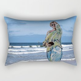 summer dreaming Rectangular Pillow