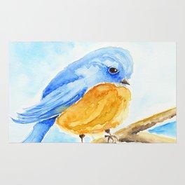 The Chubby Bluebird Rug