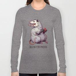 Beg No Man Pardon Long Sleeve T-shirt