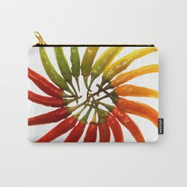 Chili Color Wheel Vector Carry-All Pouch