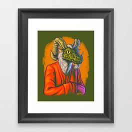 He Heard You Framed Art Print