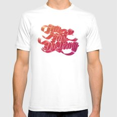 Live Fast Die Young Mens Fitted Tee White MEDIUM