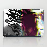 hunter s thompson iPad Cases featuring Hunter S by theCword