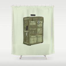 LOST Luggage / John Shower Curtain