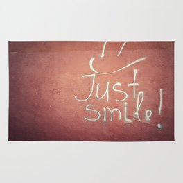 Just smile Rug