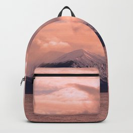 Rose Quartz Over Hope Valley Backpack