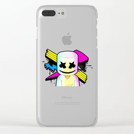 marsmello's Clear iPhone Case