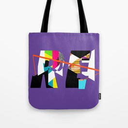 Reinterpretation (collage) Tote Bag