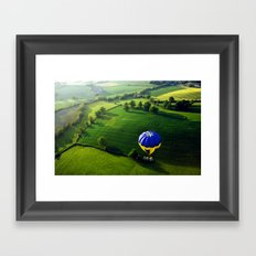 Above The Shires Framed Art Print