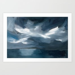 Lake Taupo, New Zealand Art Print