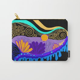 Underwater Dripping landscape Carry-All Pouch