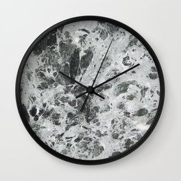 Marble waves Wall Clock