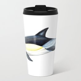 Common dolphin (Delphinus delphis) Travel Mug