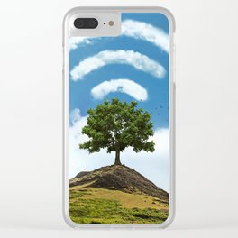 Natural Signal Clear iPhone Case