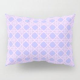Cane Rattan Lattice in Lilac Pillow Sham