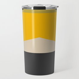Stackables, Abstract Art Geometric Shapes Travel Mug