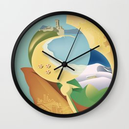 Glory to Yugoslavian design by Cardula Wall Clock