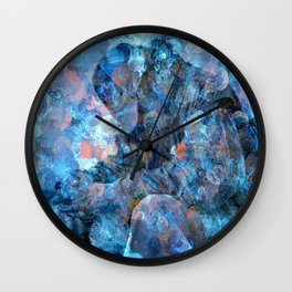 But For The Grace Of God Wall Clock