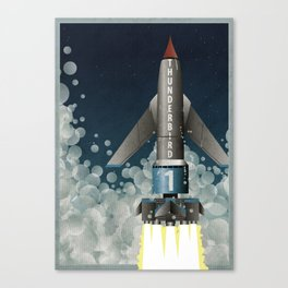 Thunderbird 1 Canvas Print