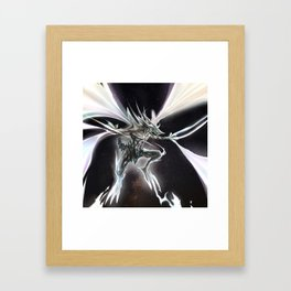 Star Dragon Framed Art Print