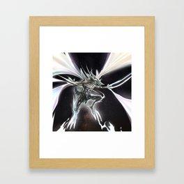 Star Dragon Framed Art Print