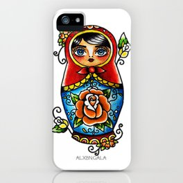 Matryoshka Doll iPhone Case