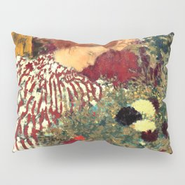 Woman in a Striped Dress by Édouard Vuillard - Les Nabis Oil Painting Pillow Sham