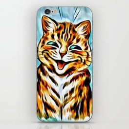 "Louis Wain's Cats ""Winking Cats"" iPhone Skin"