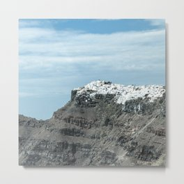 Santorini, Greece 16 Metal Print