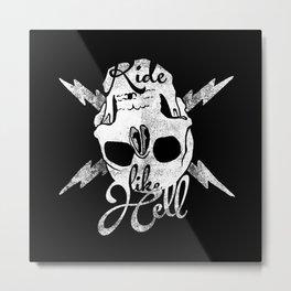 bwh Metal Print