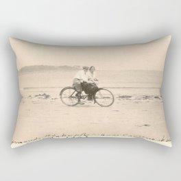 Love on a Bicycle Rectangular Pillow