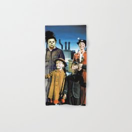 Michael Myers in Mary Poppins Hand & Bath Towel