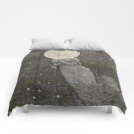 AROUND THE MOON - EMILE-ANTOINE BAYARD Comforters