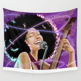 Esperanza Spaulding - Black Girl Magic Wall Tapestry