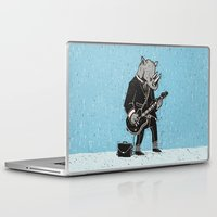 rhino Laptop & iPad Skins featuring Rhino by Ronan Lynam